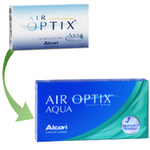 Air Optix Aqua (6 lentes)