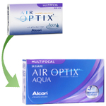 Air Optix Aqua Multifocal (6 lentes)