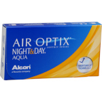 Air Optix Night & Day Aqua (6 lentes)