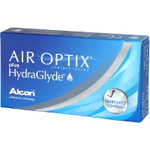 Air Optix plus HydraGlyde (3 lentes)
