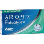 Air Optix plus HydraGlyde for Astigmatism (3 lentes)