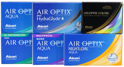 Air Optix family