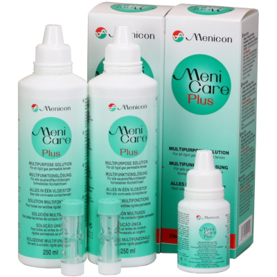 Meni Care Plus Pack Poupança (2x250ml + 1x50ml)
