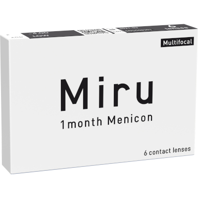 Miru 1 month Menicon Multifocal (6 lentes)