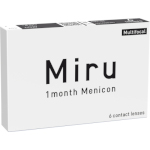 Miru 1 month Menicon Multifocal (3 lentes)